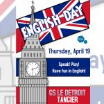 English Day -Thursday, April 19