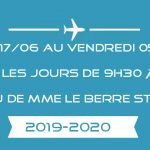 INSCRIPTIONS SECONDAIRE 2019-2020